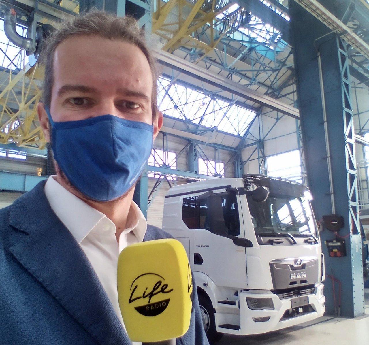 Life Radio Reporter Daniel Kortschak