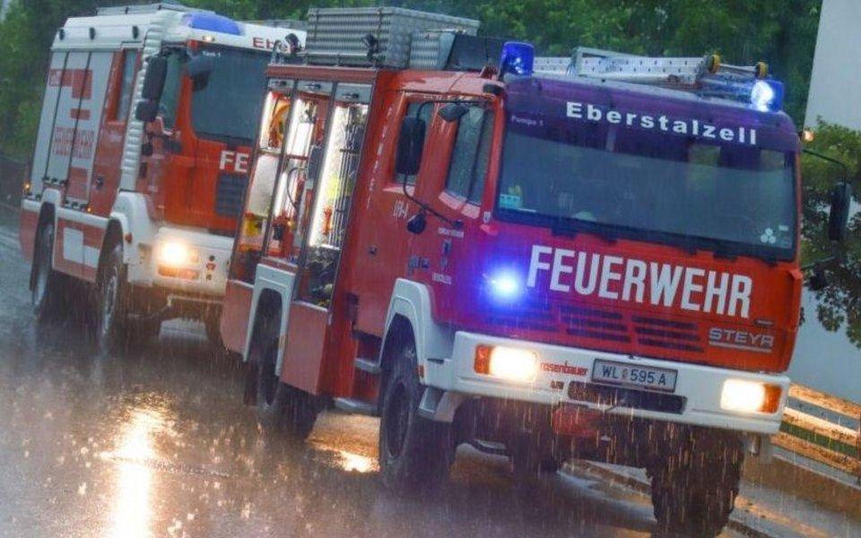 Unwetter Oberösterreich