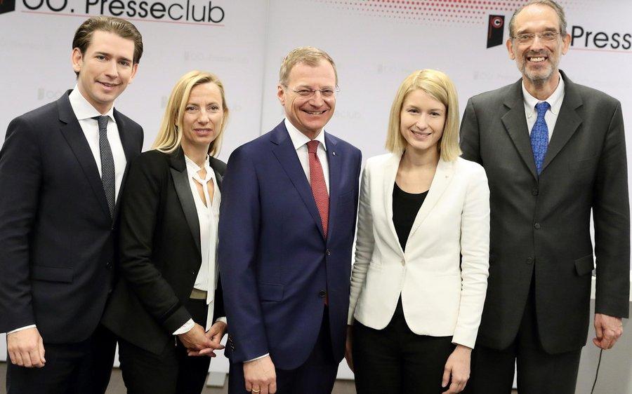 Polit-Prominenz in Linz