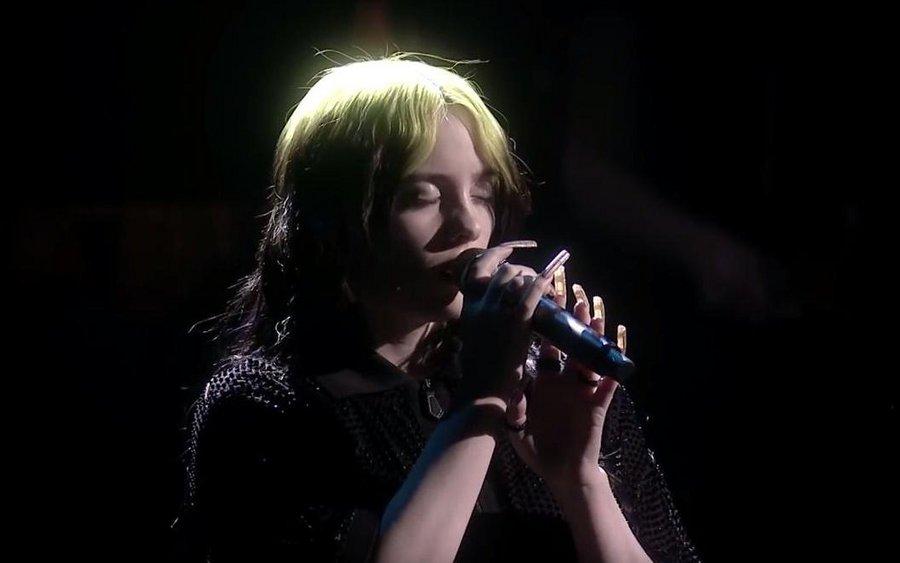 Billie Eilish bei den Brit Awards 2020