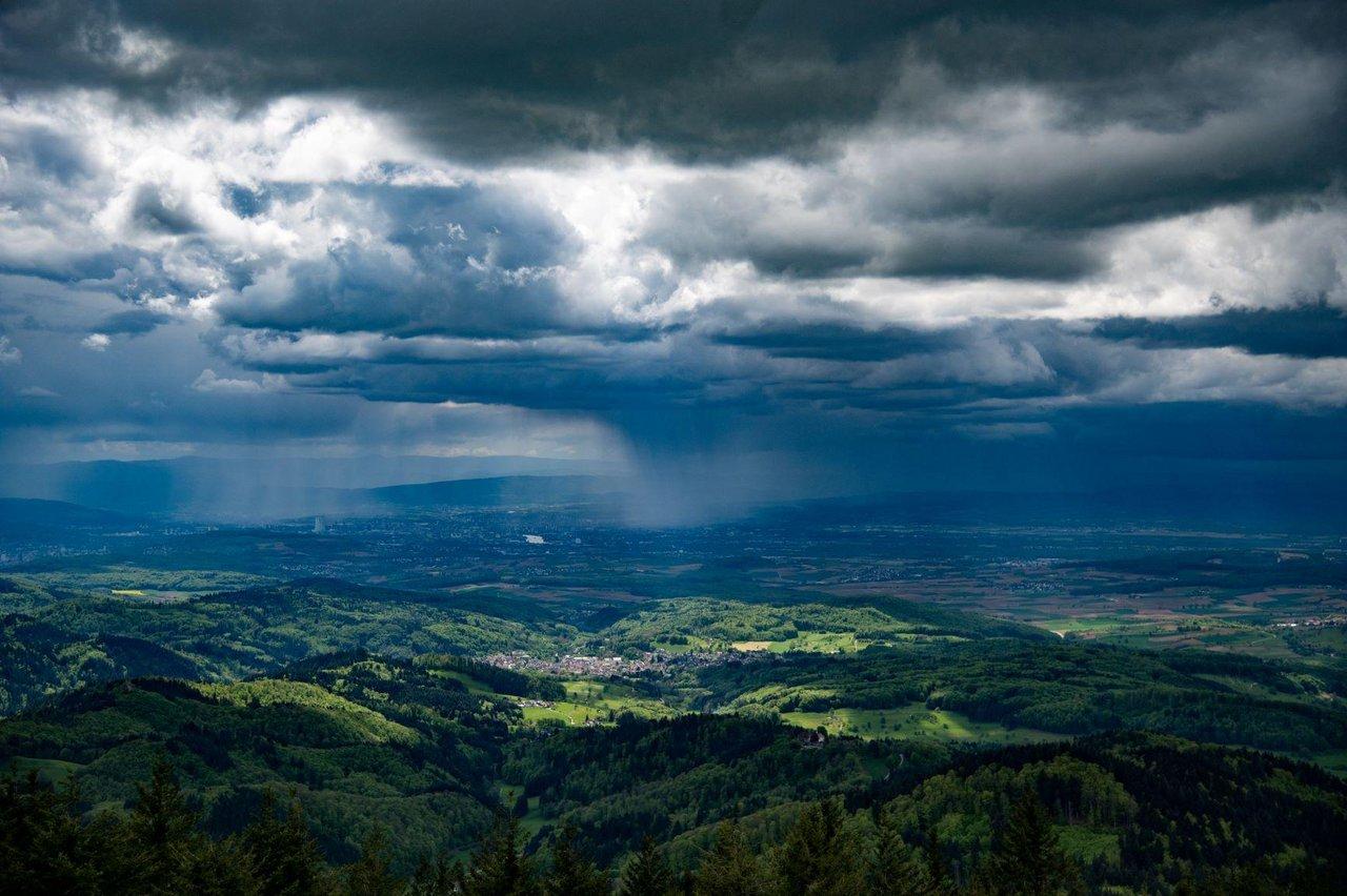 Gewitter Unwetter Wolken