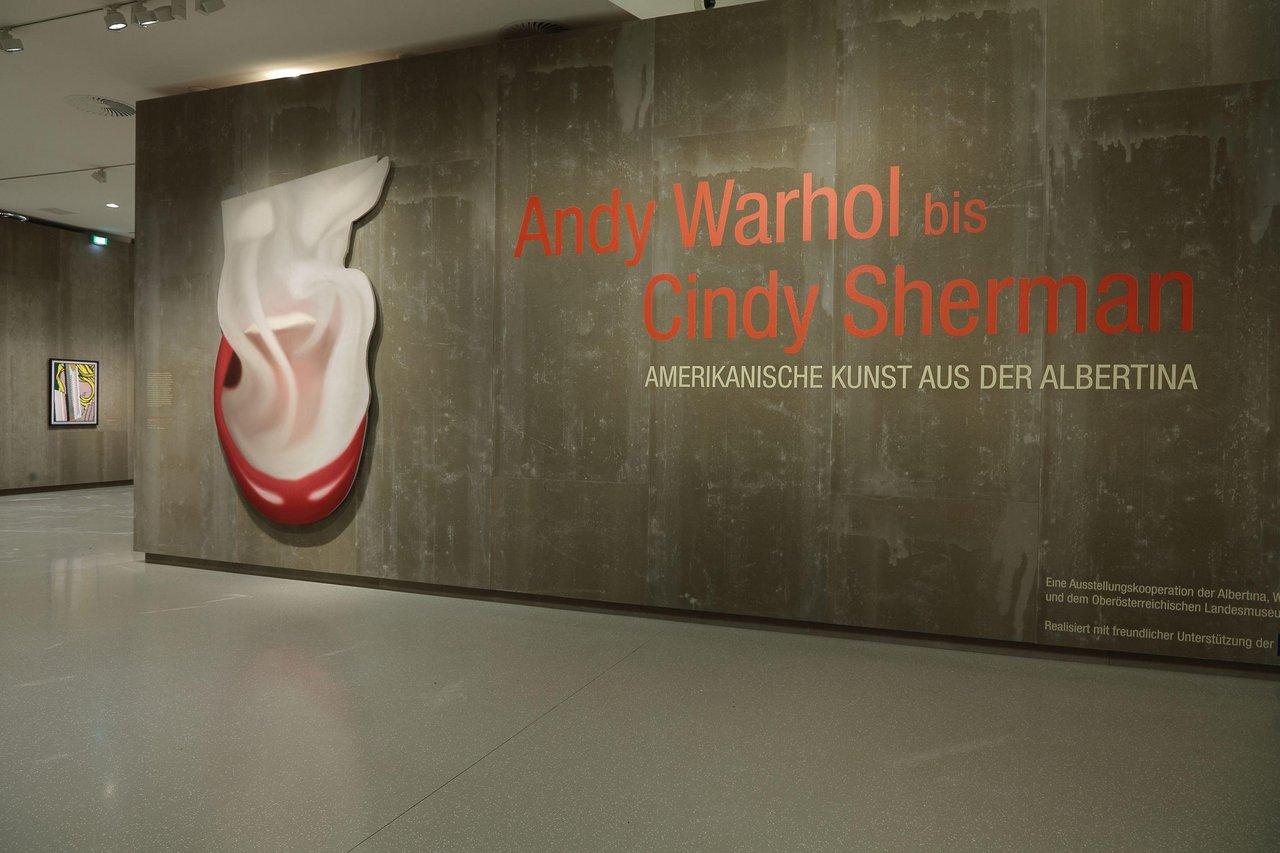 """Ausstellung """"Andy Warhol bis Cindy Sherman. Amerikanische Kunst aus der Albertina"""""""