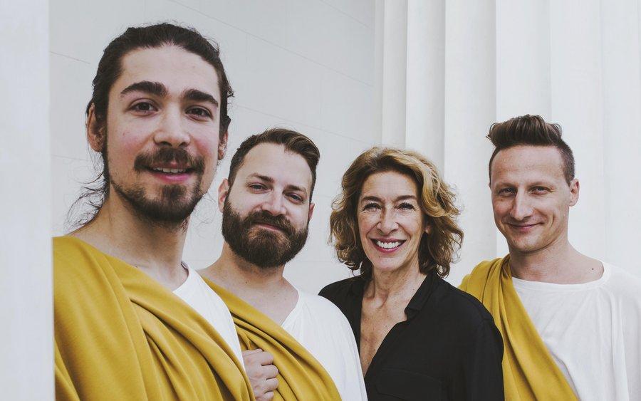 Adele Neuhauser und Edi Nulz Trio