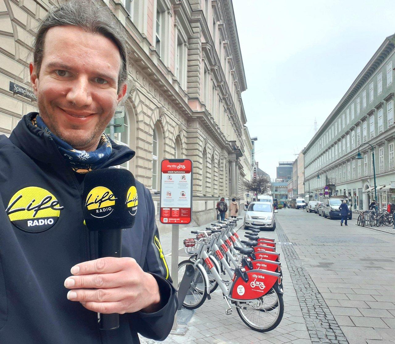 Citybike Linz Daniel Kortschak