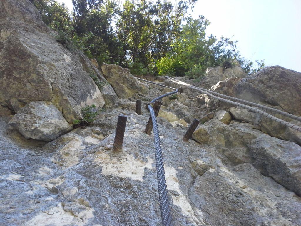 Klettersteig Oberösterreich : Drei chinesen ohne ausrüstung im klettersteig life radio der