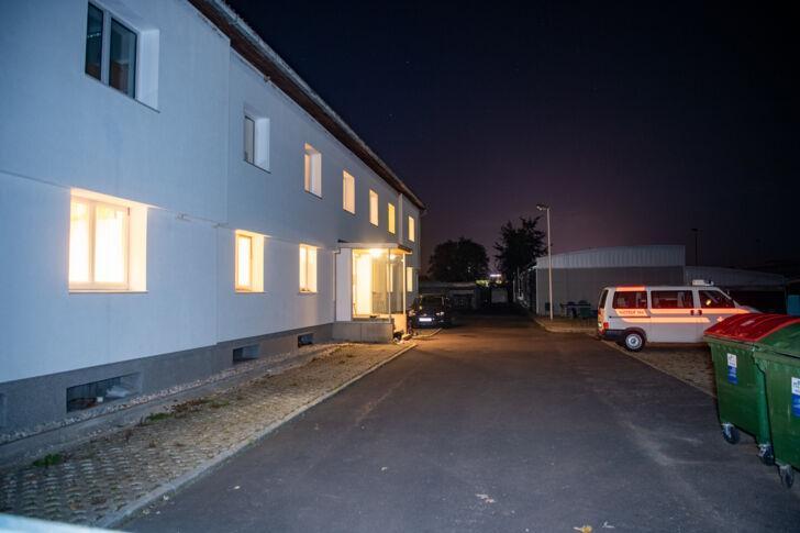 Asylbewerberunterkunft Flüchtlingsheim Wullowitz