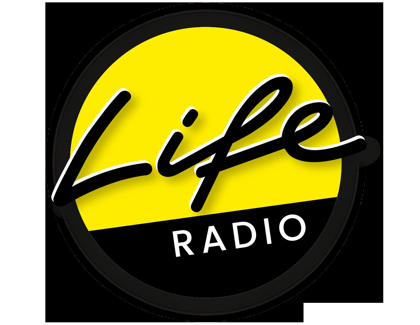 Das Logo von Life Radio als transparentes PNG